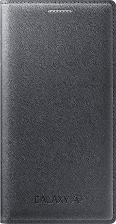 Samsung Чехол-книжка Samsung Galaxy A3 Flip Cover Black