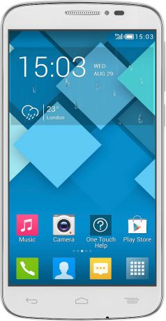 Alcatel One Touch POP C7 7041D Dual Sim White