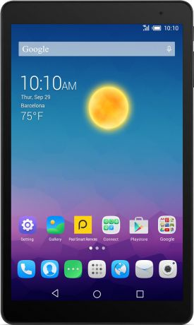 "Alcatel One Touch POP 10 9.6"" P360X 4Gb LTE Smoky Grey P360X-2CALRU1"