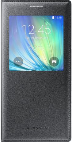 Samsung Чехол-книжка Samsung Galaxy A7 S-View Cover Black