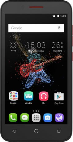 Alcatel One Touch 7048X Go Play LTE Dark Red