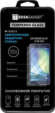 MediaGadget Tempered glass для Samsung Galaxy A3