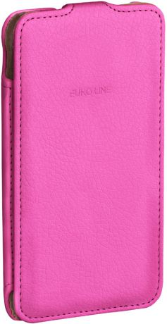 EuroLine для Alcatel One Touch PIXI 3 (4) 4013D Pink