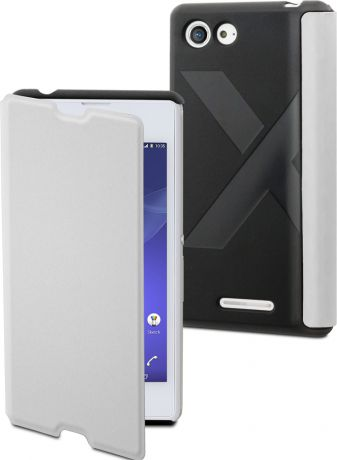 Muvit Чехол-книжка Muvit EASY FOLIO Sony Xperia E3 White