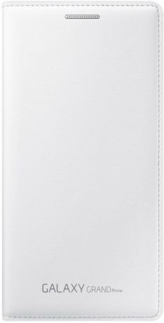 Samsung Чехол-книжка Samsung Galaxy Grand Prime Flip Wallet White