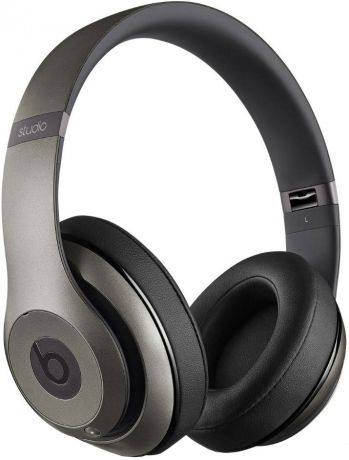 Beats Studio Over-Ear Headphones Titanium MHAD2ZM/A