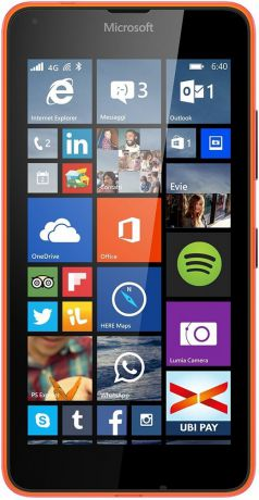 Microsoft Lumia 640 LTE Orange