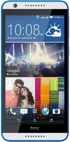 HTC Desire 820 LTE White Blue