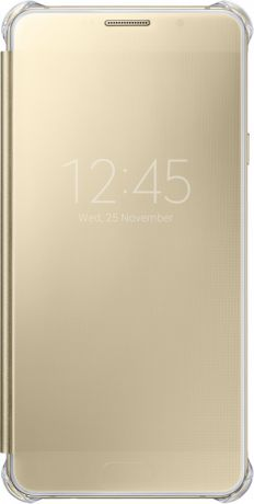 Samsung EF-ZA710CFEGRU для Galaxy A7 2016 Clear View Gold