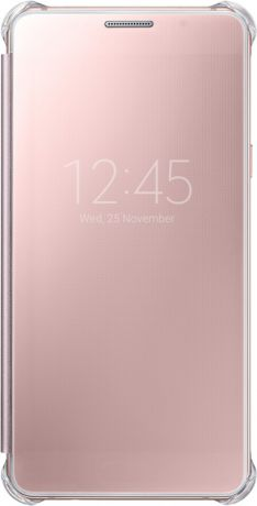 Samsung EF-ZA510CZEGRU для Galaxy A5 2016 Clear View Pink Gold