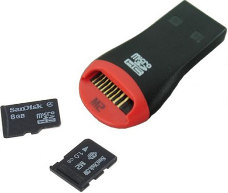 Noname USB2/USB/T-Flash/M2 Black