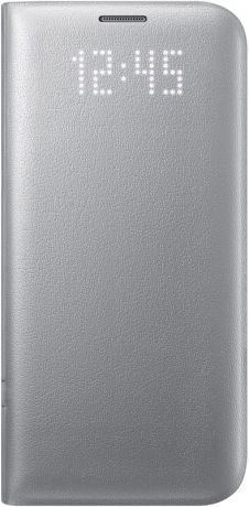 Samsung LED View Cover для Galaxy S7 Edge Silver EF-NG935P