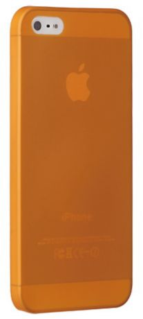Ozaki O!coat 0.3 Jelly (OC533OG) - чехол для iPhone 5/5S/SE (Orange)