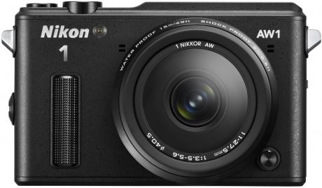 Фотоаппарат Nikon 1 AW1 Kit (Nikon AW1 Body Black + 1 Nikkor AW 11–27.5mm f/3.5–5.6 Black)