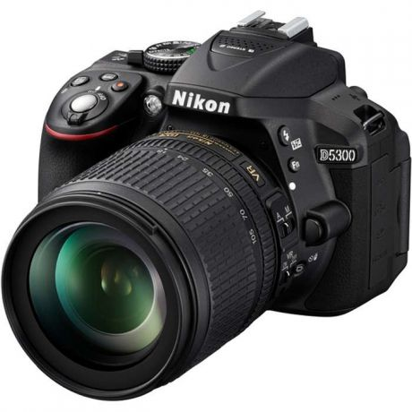 Фотоаппарат Nikon D5300 Kit (D5300 Body Black + 18-105 VR Black)