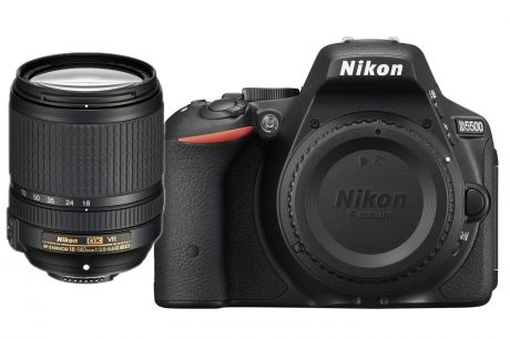 Фотоаппарат Nikon D5500 Kit (D5500 Body Black + 18-140 VR Black)