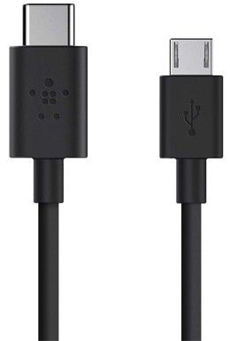 Кабель Belkin USB-C to Micro USB (Black)