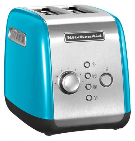 KitchenAid KMT221 2-slice Toaster (5KMT221ECL) - тостер на 2 хлебца (Crystal Blue)
