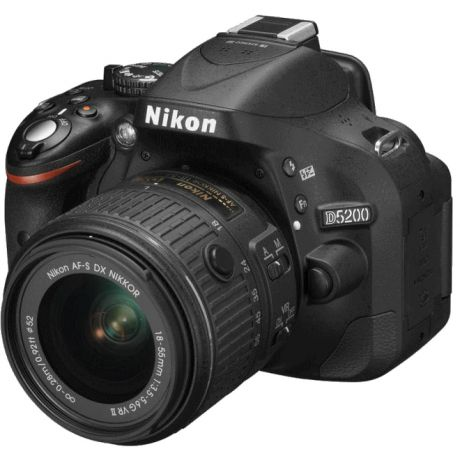 Фотоаппарат Nikon D5200 Kit (D5200 Body Black + 18-55 VRII Black)