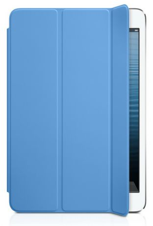 iPad mini Smart Cover - Polyurethane (MD970LL/A) - оригинальный чехол для iPad mini (Blue)