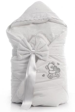 Funnababy Lovely Bear 80х80 - одеяло-конверт (White)