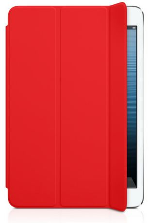 iPad mini Smart Cover - Polyurethane (MD828LL/A) - оригинальный чехол для iPad mini (Red)