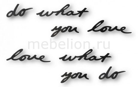 Fine Design (31.7х7.5 см) Do what you love 470170-040