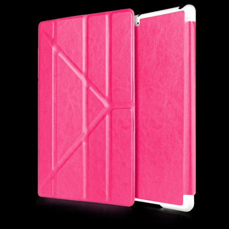 Чехол для iPad mini Gurdini Origami (Raspberry)