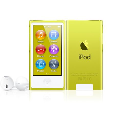 Плеер Apple iPod Nano 7G 16Gb (Yellow)