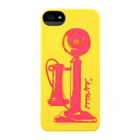 Чехол для iPhone 5/5S/SE Incase Telephone Snap Case (Electric Yellow)