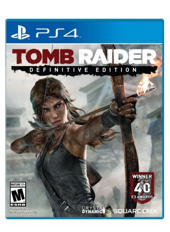 Игра для PlayStation 4 TOMB RAIDER: Definitive Edition
