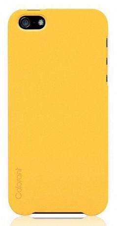 Чехол для iPhone 5/5S/SE Colorant Case (Mango Yellow)