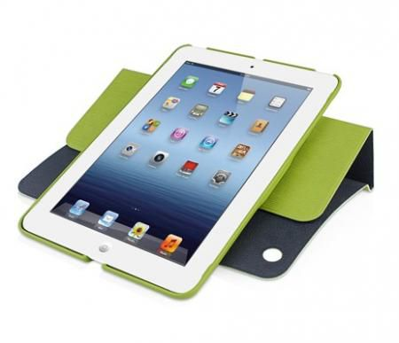 Чехол для Apple iPad mini Macally Rotating Folio (Green)