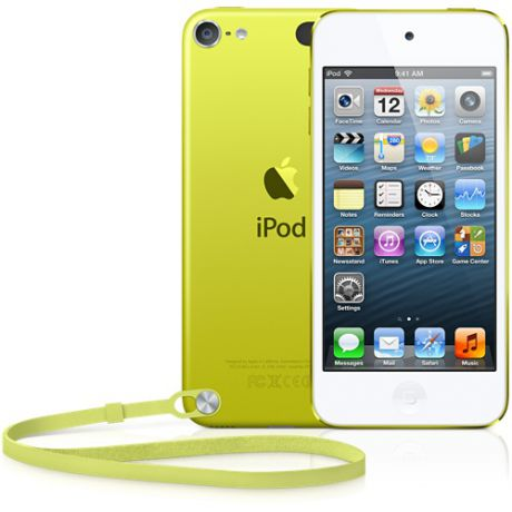 Плеер Apple iPod Touch 5 64Gb (Yellow)