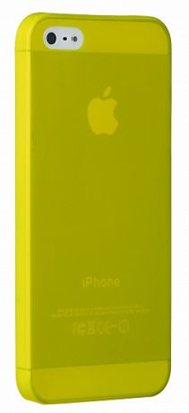 Чехол для iPhone 5/5S/SE Ozaki O!coat-0.3 Jelly (Yellow)