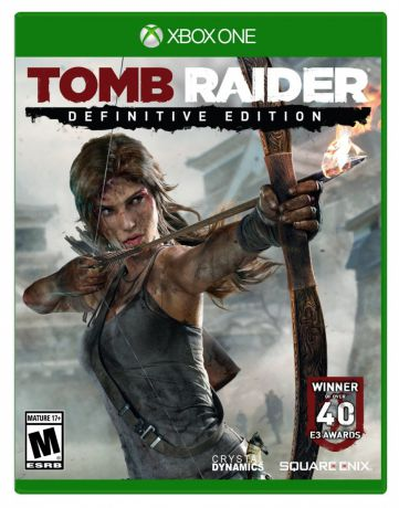 Игра для Xbox One Tomb Raider Definitive Edition