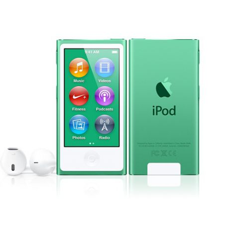 Плеер Apple iPod Nano 7G 16Gb (Green)