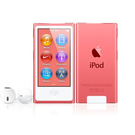 Плеер Apple iPod Nano 7G 16Gb (Pink)