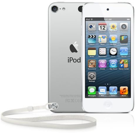 Плеер Apple iPod Touch 5 32Gb (White & Silver)