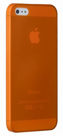 Чехол для iPhone 5/5S/SE Ozaki O!coat-0.3 Jelly (Orange)