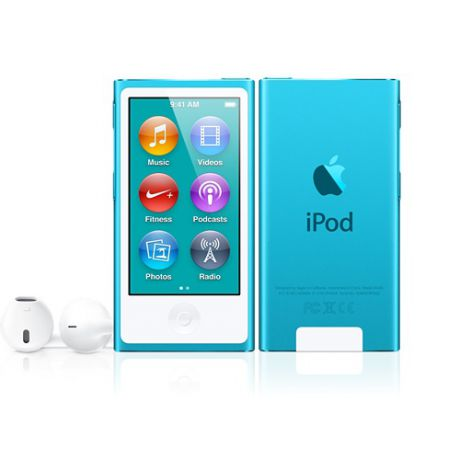 Плеер Apple iPod Nano 7G 16Gb (Blue)
