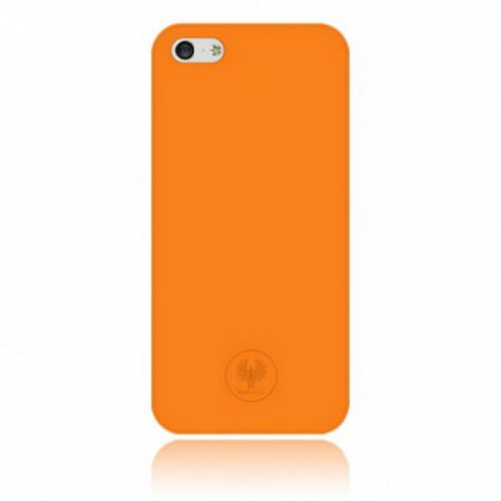 Чехол для iPhone 5/5S/SE Red Angel Ultra Thin 0.33 mm (Orange)