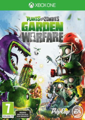 Игра для Xbox One Plants vs.Zombies Garden Warfare
