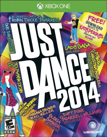 Игра для Xbox One Just Dance 2014