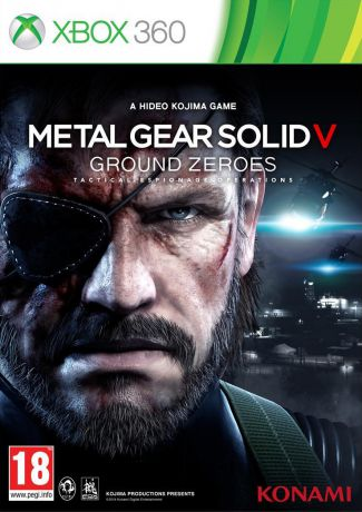 Игра для Xbox One Metal Gear Solid 5 Ground Zeroes