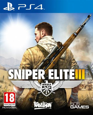 Игра для PlayStation 4 Sniper Elite 3
