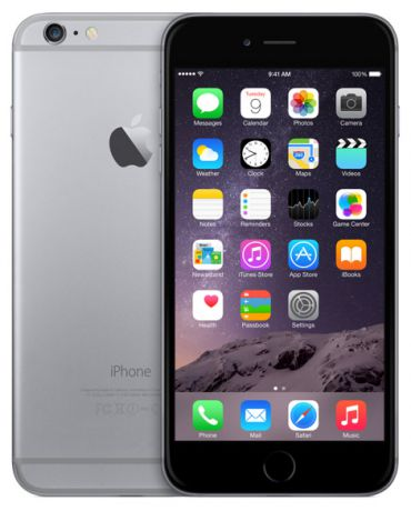 Телефон Apple iPhone 6 Plus 128Gb (Space Gray)
