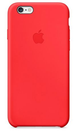 Чехол для Apple iPhone 6/6S Silicon Case (Red)