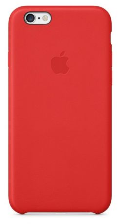 Чехол для Apple iPhone 6/6S Leather Case (Red)
