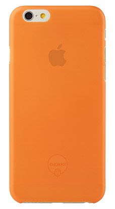 Чехол для iPhone 6/6S Ozaki 0.3 Jelly (Orange)